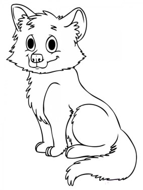Fox Coloring Pages Printable lp5n8