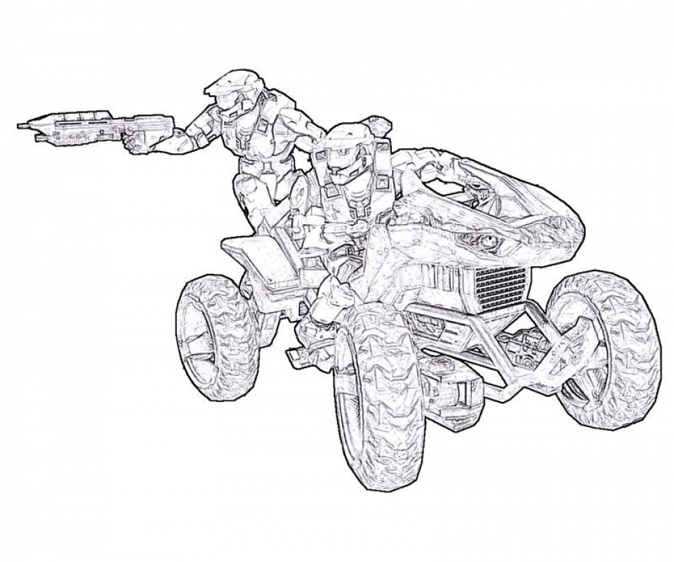 Halo Coloring Pages Printable   08601