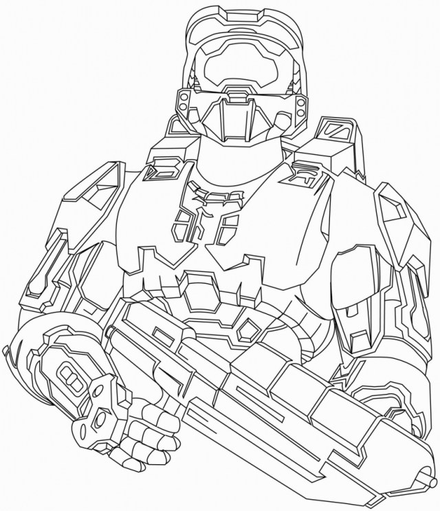 Get This Halo Coloring Pages Printable for Boys 29ahhj !