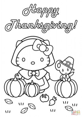 Happy Thanksgiving Coloring Pages 08513
