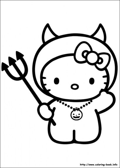 Hello Kitty Coloring Pages for Kids 62md9