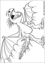 How to Train Your Dragon Coloring Pages Free 37v71