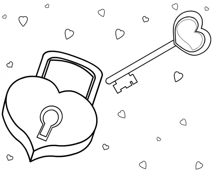 Love Coloring Pages Printable   ater1