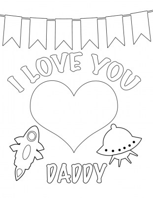 Love Coloring Pages to Print for Kids 11254