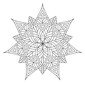 Mandala Design Coloring Pages 3aml4
