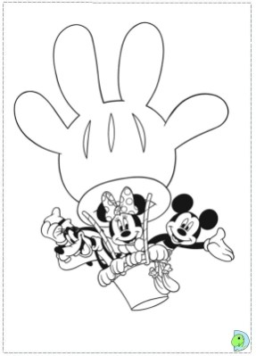 Mickey Mouse Clubhouse Coloring Pages Printable 95ml5