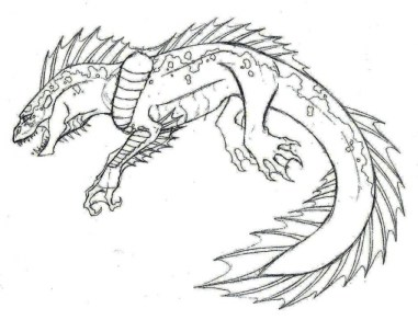 Monster Coloring Pages to Print ta53c
