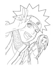 Naruto Coloring Pages Online 31730