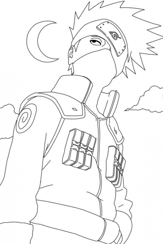naruto shippuden coloring pages # 63