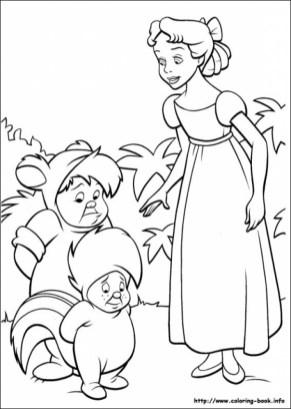 Peter Pan Coloring Pages Disney Printable tcv41