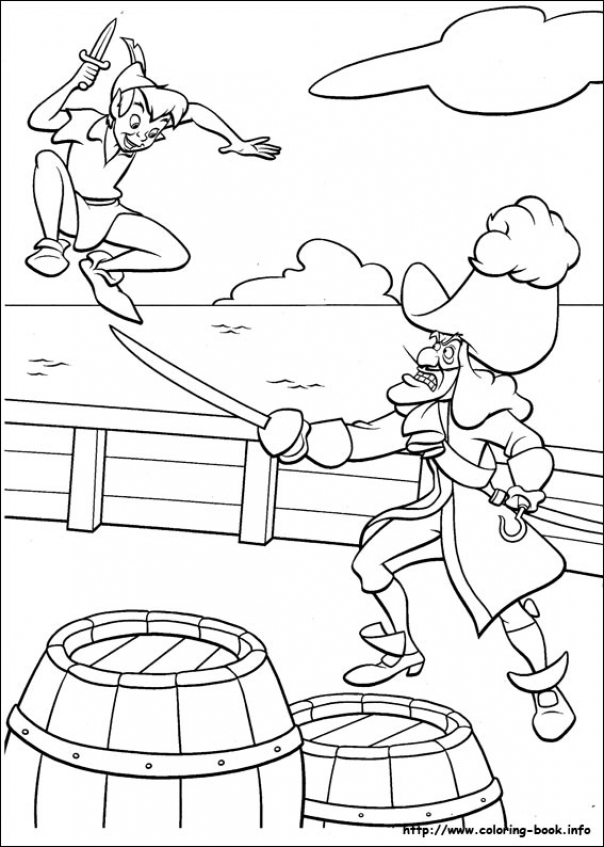 Peter Pan Coloring Pages Printable   7vbg3
