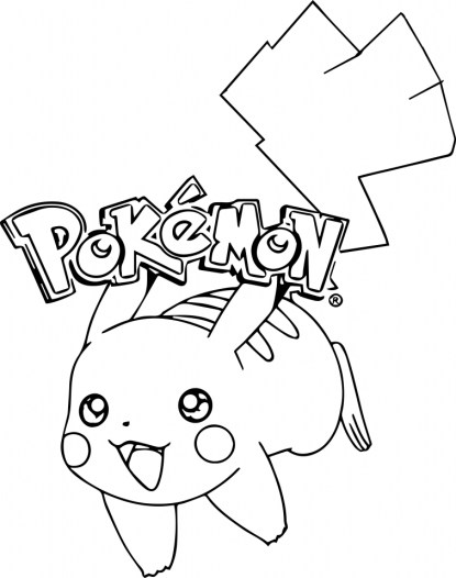 Pikachu Coloring Pages Printable jasy4