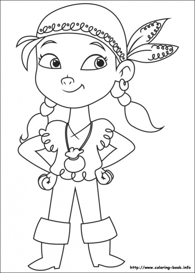 Pirate Jake Coloring Pages   77412