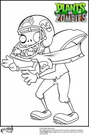 Plants Vs. Zombies Coloring Pages Free 15a93