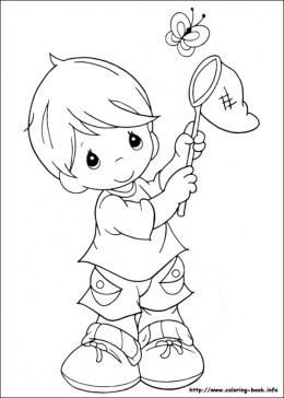 Precious Moments Coloring Pages for Kids 74615