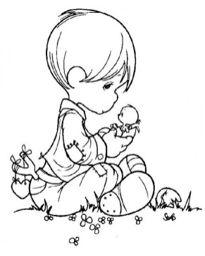 Precious Moments Coloring Pages to Print for Free 2ufo1
