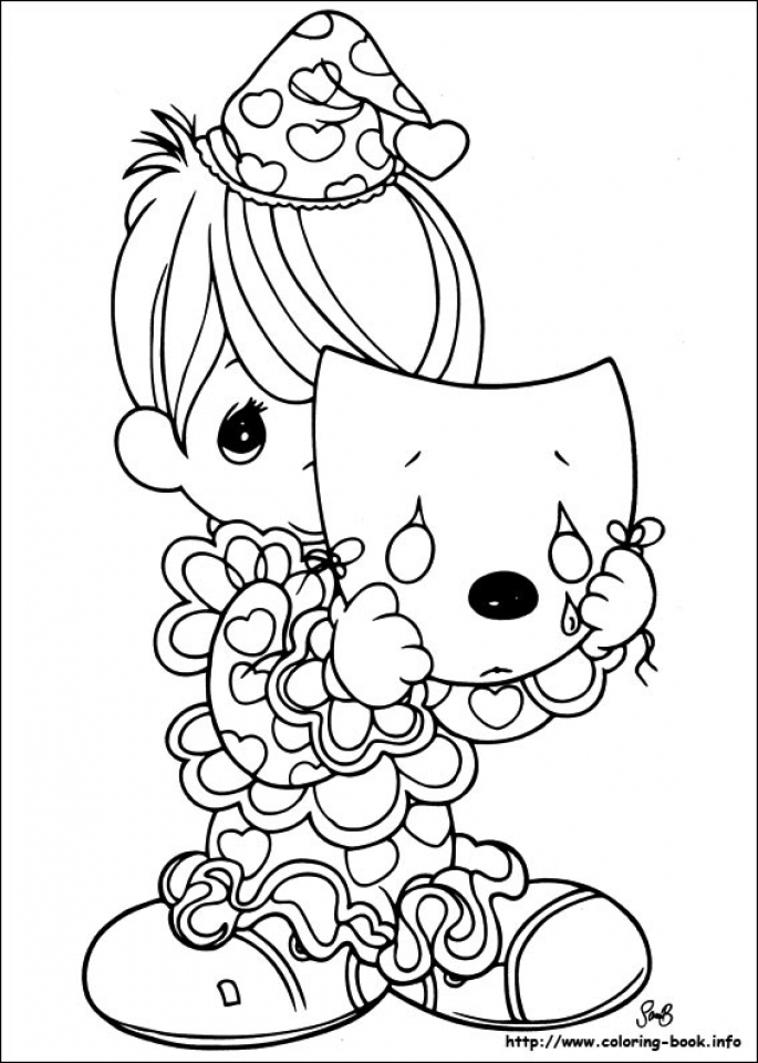 Precious Moments Coloring Picture. Precious Moments Images ... | 960x685