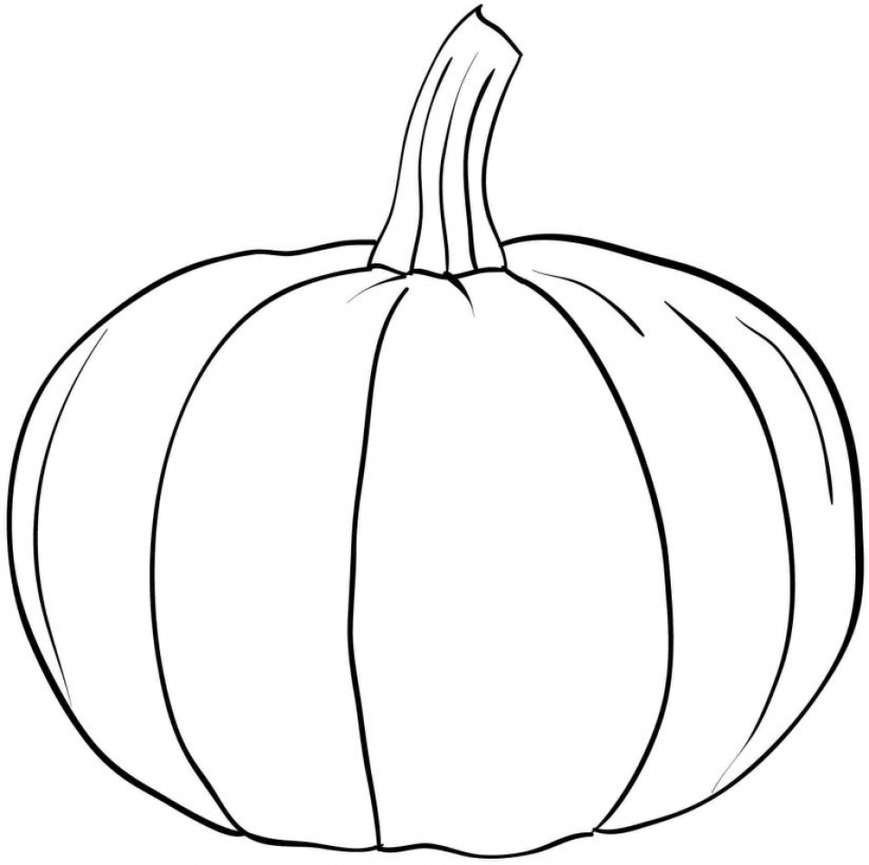 Pumpkin Coloring Pages Free Printable   uab58