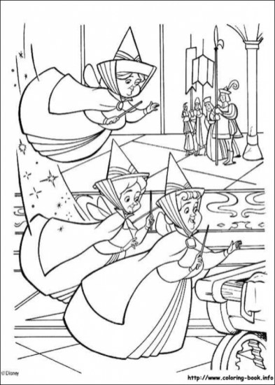 Sleeping Beauty Coloring Pages for Girl 6cbfm