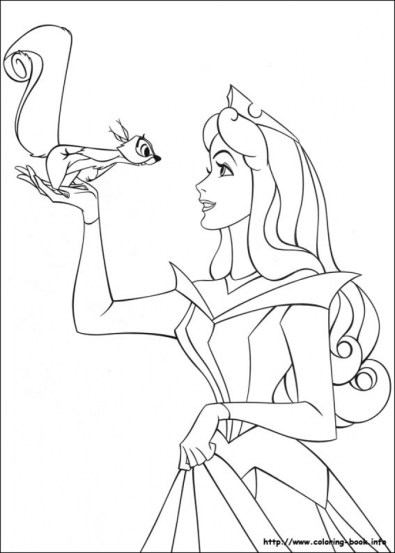 Sleeping Beauty Coloring Pages Online 6agwm