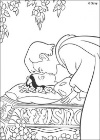 Snow White Coloring Pages Online t2bc7