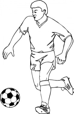 Soccer Coloring Pages Free to Print 96894