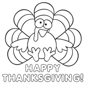 Thanksgiving Coloring Pages for Preschoolers 5xv41