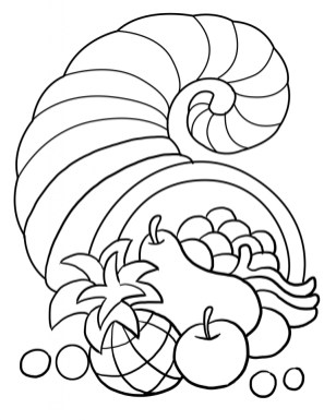 Thanksgiving Coloring Pages for Toddlers 73231