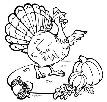 Thanksgiving Coloring Pages Free to Print 7erb2