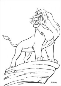 The Lion Kin Coloring Pages Free to Print 94016