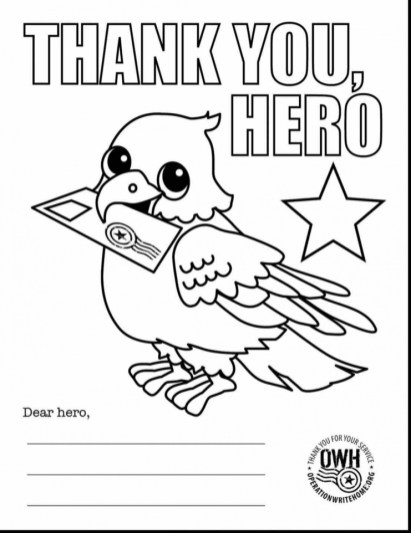 Veteran's Day Coloring Pages Free a2hb8
