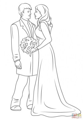 Wedding Coloring Pages Free to Print 74ng8