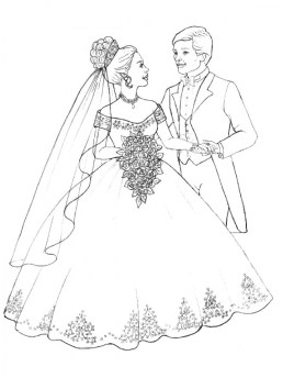 Wedding Coloring Pages to Print wah5n