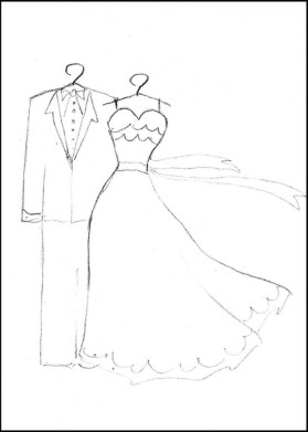 Wedding Dress Coloring Pages 72nal