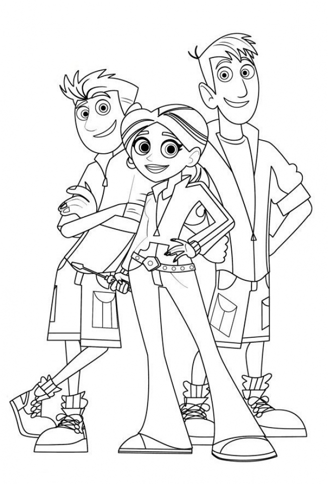 Get This Wild Kratts Coloring Pages Online ta438