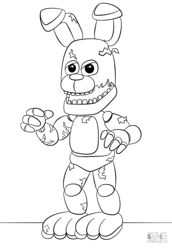 FNaF coloring pages ag39