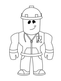 Roblox Coloring Pages For Kids cst5