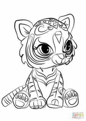 Shimmer and Shine Coloring Pages for Kids jjs5