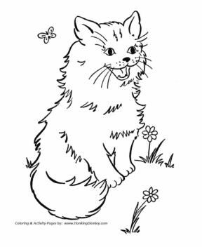 cat coloring pages free for kids 9gh5