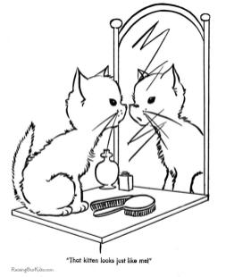 cat coloring pages free to print vh58c