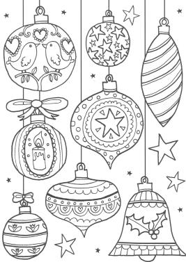 Adult Christmas Coloring Pages Free Bells and Whistles odl8