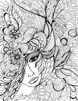 Adult Coloring Pages Patterns Flowers jkl3
