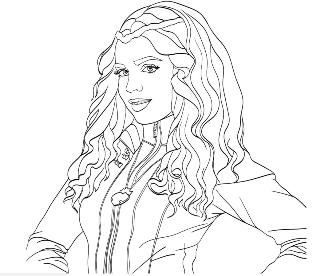 Descendants Coloring Pages cck5