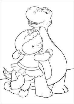 Doc McStuffins Coloring Pages Free hug2