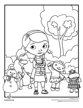 Doc McStuffins Coloring Pages Printable prk7