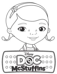 Doc McStuffins Coloring Pages to Print sml1