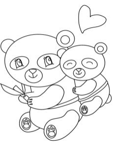 Kawaii Coloring Pages Bears Printable