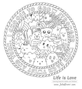 Kawaii Coloring Pages Free