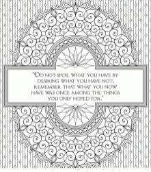 Printable Adult Coloring Pages Quotes Be Thankful