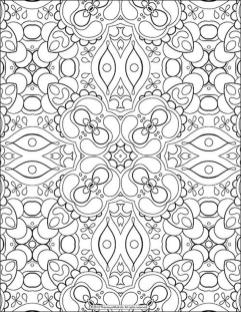 Adult Coloring Pages Patterns Difficult Abstract 1bcv